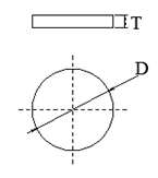 钕铁硼磁铁圆片