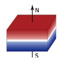 四川钕铁硼磁铁方块厚度方向充磁
